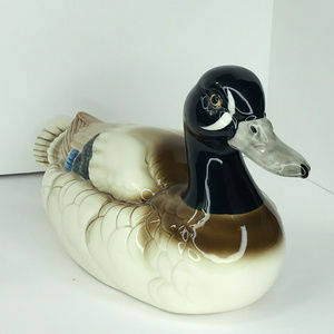 Vintage Ceramic Duck From Andrea by Sadek